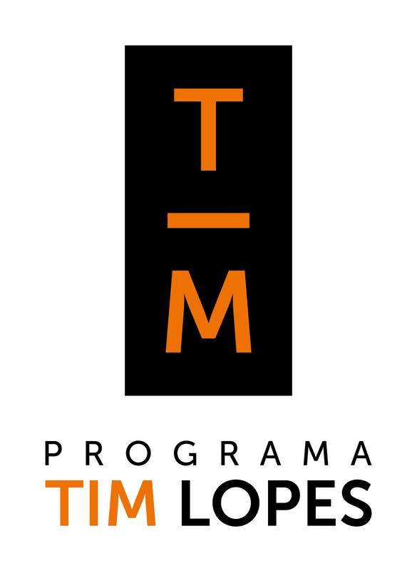Logotipo Programa Tim Lopes