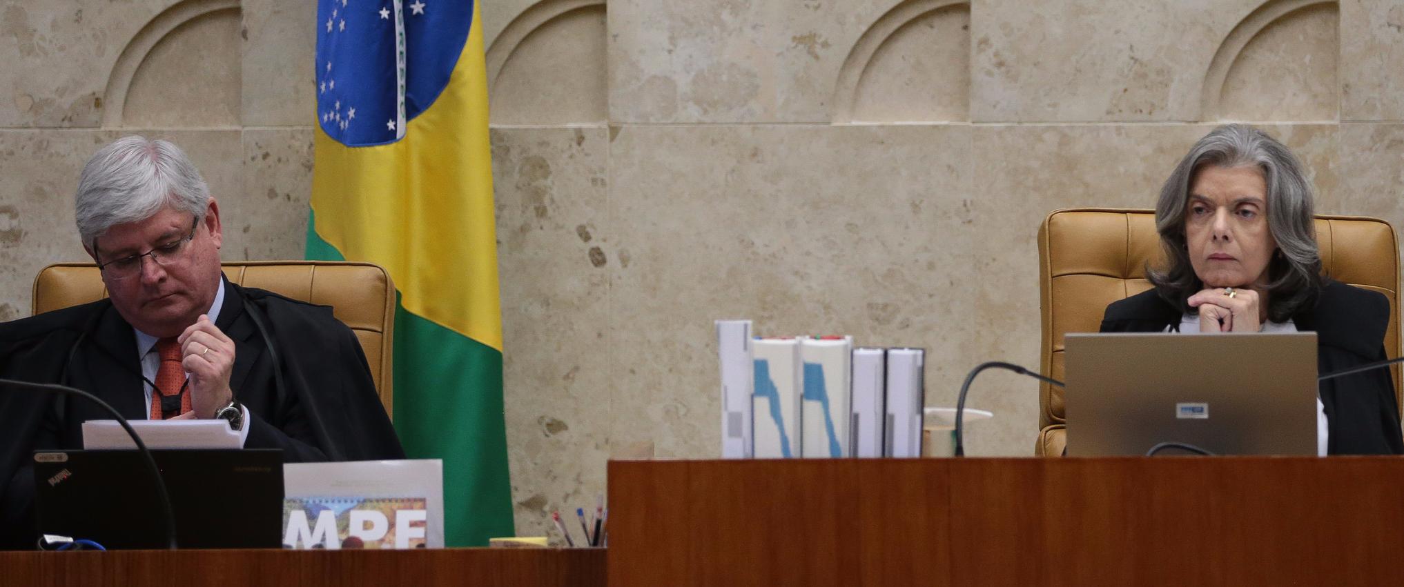 Rodrigo Janot e ministra Cármen Lúcia estão em seminário sobre direito ao esquecimento em Brasília