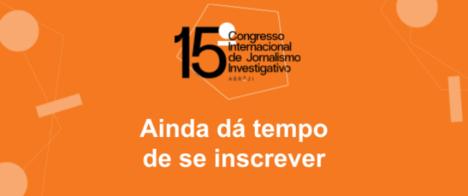 15º Congresso da Abraji tem inscrições prorrogadas