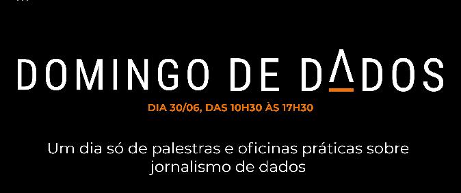 Domingo de Dados é novidade do 14º Congresso da Abraji