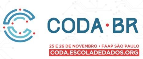 Inscrições abertas para a 2ª Coda.Br, conferência brasileira focada em jornalismo de dados