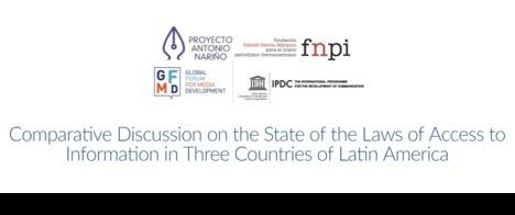 Webinar compara legislação de acesso à informação em três países latino-americanos