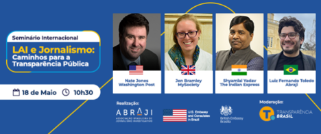 Seminário internacional discute jornalismo e leis de acesso em quatro países