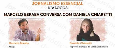Daniela Chiaretti é a terceira convidada do programa Jornalismo Essencial - Diálogos