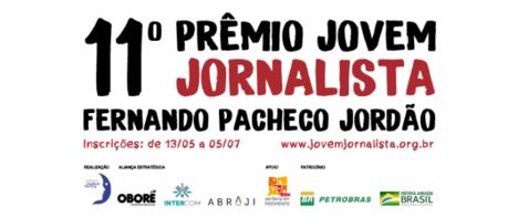 11º Prêmio Jovem Jornalista tem inscrições abertas