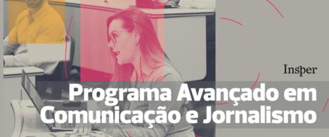 Insper lança pós-graduação em jornalismo e comunicação