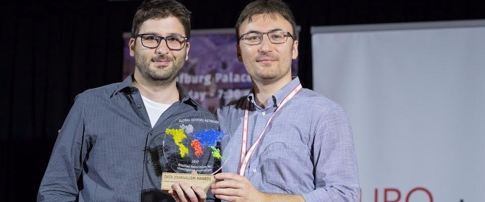 Ctrl+X é premiado no Data Journalism Awards