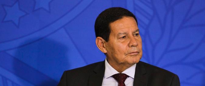 Vice-presidente Hamilton Mourão será entrevistado no 14º Congresso da Abraji