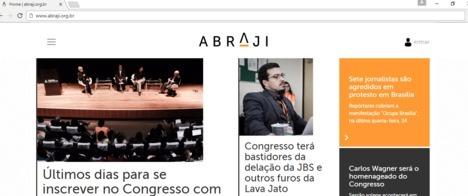 Abraji lança novo site