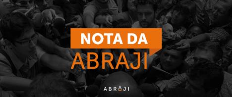 Abraji condena ataque de Bolsonaro à imprensa e à democracia