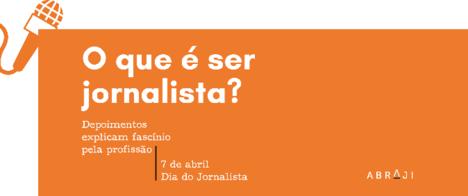 Campanha da Abraji homenageia jornalistas