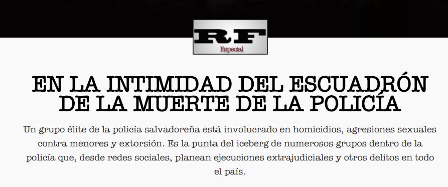 Ameaças e campanhas difamatórias atingem jornalistas em El Salvador