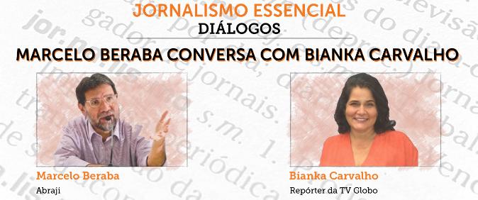 """Bianka Carvalho participa do programa """"Jornalismo Essencial - Diálogos"""" nesta terça-feira"""