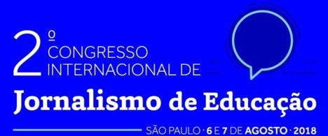 Inscrições abertas para 2º Congresso de Jornalismo de Educação