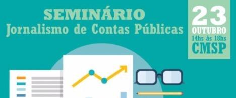 Seminário ensina jornalistas a monitorar contas públicas em São Paulo