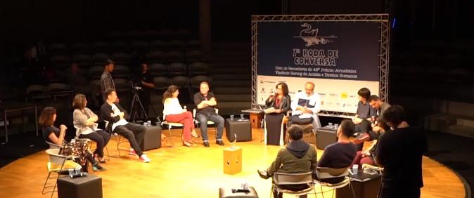 Roda de conversa do 40º Prêmio Vladimir Herzog está no YouTube