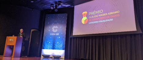 Primeiro prêmio de Jornalismo de Dados do Brasil é entregue durante a Coda.br, em SP