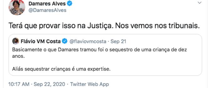 Jornalista do UOL é ameaçado por ministra em rede social