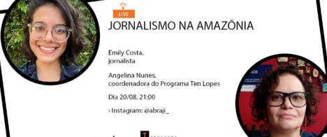Editora do G1 em Roraima fala sobre jornalismo na Amazônia na Live do Programa Tim Lopes