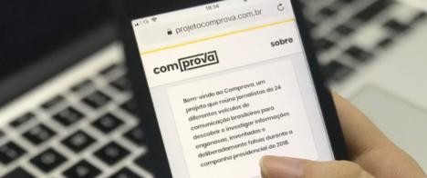 Projeto Comprova inicia terceira fase com 28 veículos de comunicação
