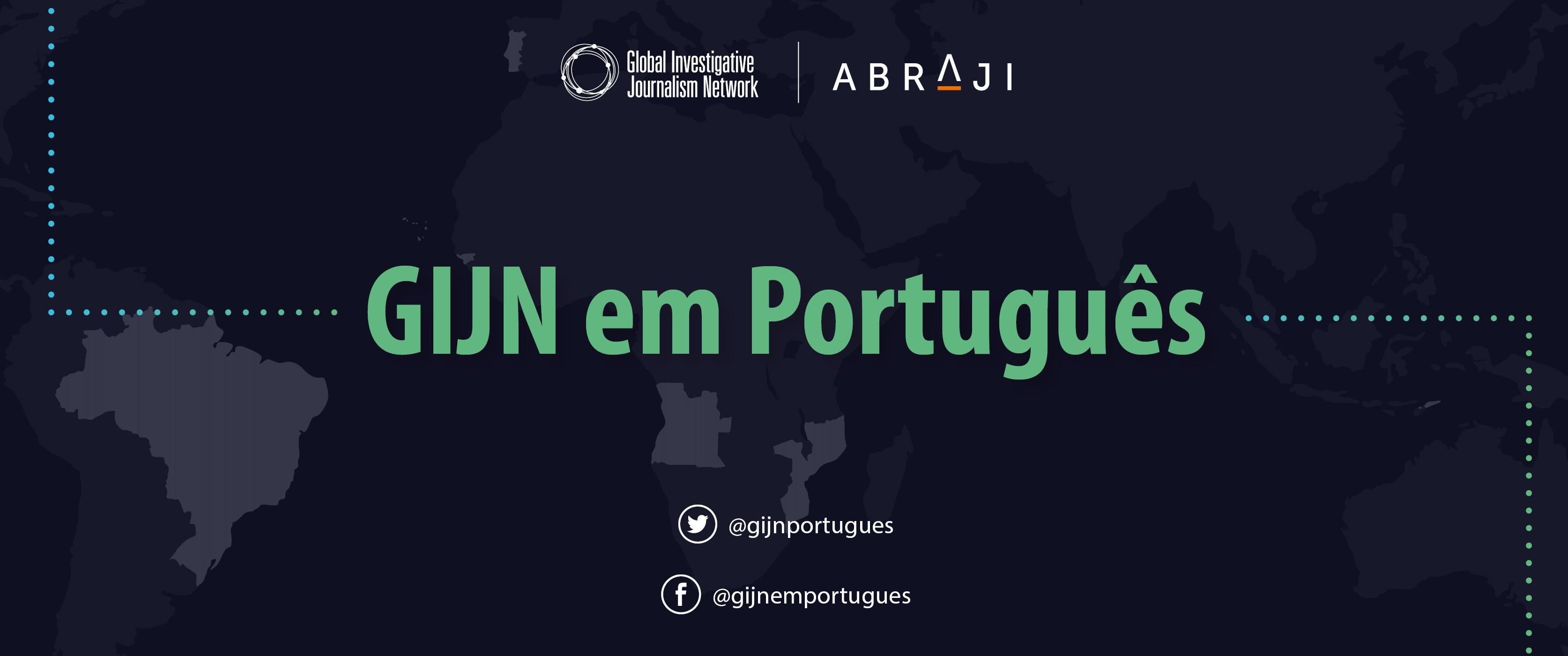 Abraji e GIJN lançam primeira comunidade global de jornalistas que falam português