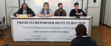 Confira lista de selecionados para o 5º curso sobre Jornalismo e Direitos Humanos