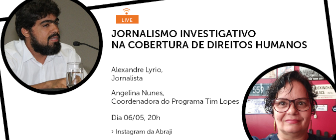 Live do Programa Tim Lopes com Alexandre Lyrio acontece nesta quinta-feira
