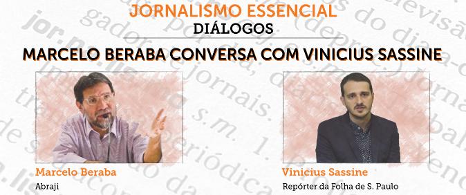 Vinicius Sassine é o próximo convidado do programa Jornalismo Essencial - Diálogos