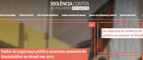 Nova plataforma reúne dados sobre violência contra mulheres