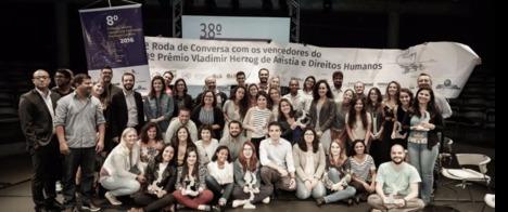 Prêmio Vladimir Herzog realiza 6ª Roda de Conversa com vencedores da edição 2017