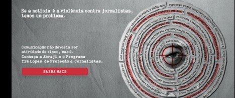 Abraji lança campanha contra violência a jornalistas
