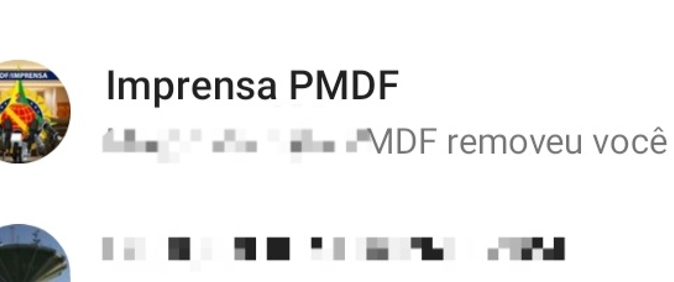 Após críticas, PM do DF exclui jornalista de grupo de WhatsApp