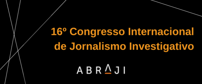 Congresso da Abraji será de 23 a 29 de agosto