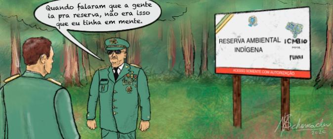 Governo Bolsonaro tem 99 militares comissionados na gestão socioambiental