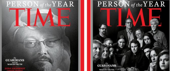 Revista Time escolhe jornalistas como Pessoa do Ano