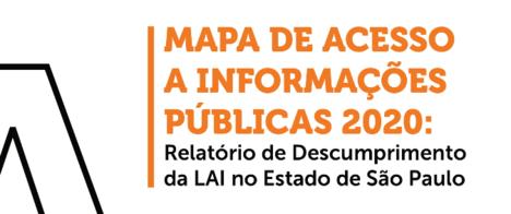 Mapa de Acesso 2020 mostrou qualidade de respostas a pedidos via LAI em SP