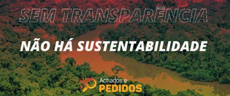 Abraji e outras 34 organizações exigem transparência de dados socioambientais
