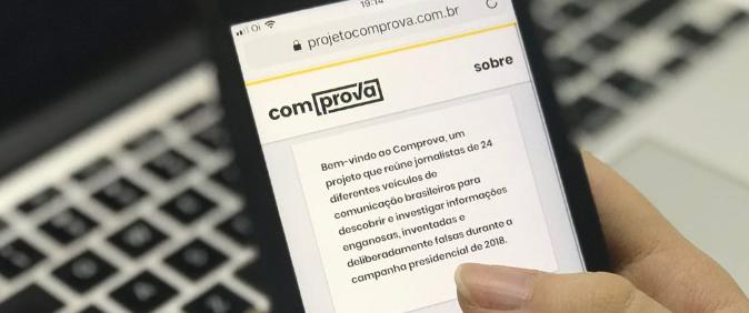 Projeto Comprova inicia checagem de conteúdos sobre o novo coronavírus