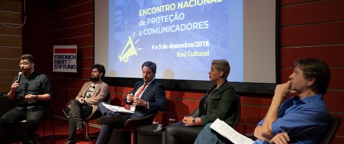 Encontro Nacional de Proteção a Comunicadores reúne mais de 50 pessoas e inicia formação de rede