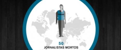 Cresce número de jornalistas assassinados em países que não estão em guerra