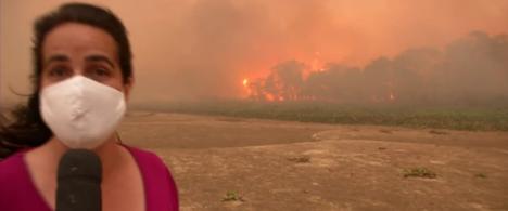 Repórter do Pantanal dá dicas sobre cobertura de incêndios