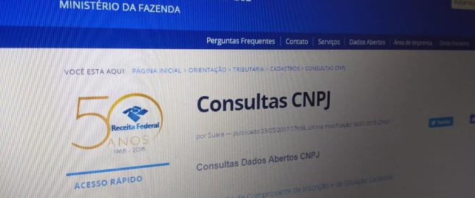 Grupo obtém decisão favorável da CGU em recurso sobre dados públicos de CNPJ