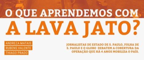 Jornalistas discutem os erros e acertos da cobertura da Lava Jato no Congresso da Abraji