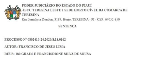 Promotor de Justiça do Piauí processa 5 portais de notícias
