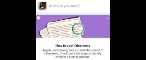 Abraji integra campanha de conscientização sobre notícias falsas no Facebook