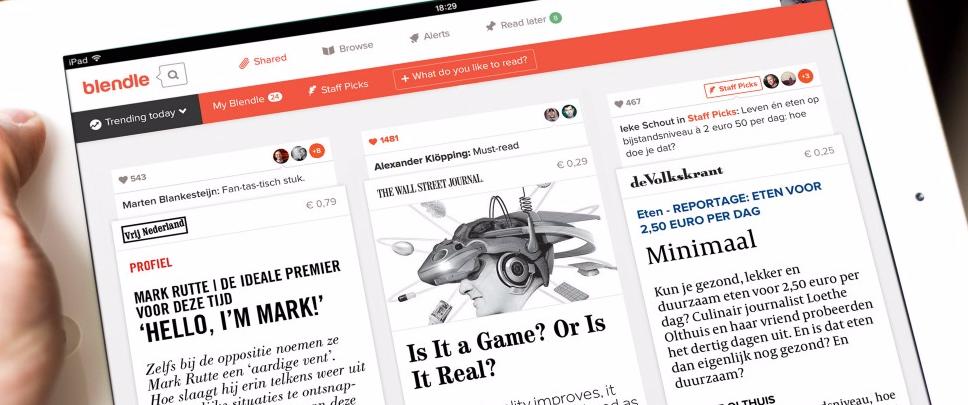 "Congresso realiza painel sobre o Blendle, o ""iTunes do jornalismo"""