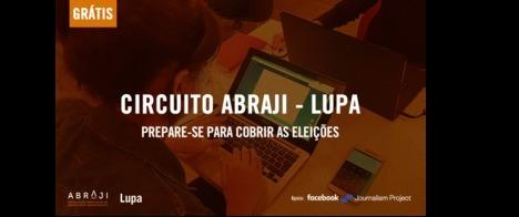 Abraji e Lupa iniciam turnê de oficinas para treinar mais de 500 pessoas