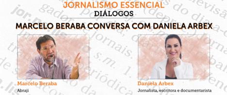 Daniela Arbex é a quarta convidada do programa Jornalismo Essencial - Diálogos