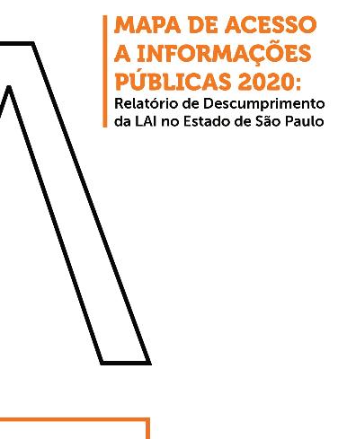 Mapa de acesso a informações públicas 2020