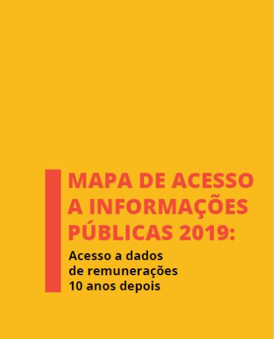 Mapa de Acesso a Informações Públicas 2019